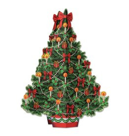 Christmas Tree 3-D Centerpiece