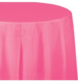 Round Table Cover Candy Pink