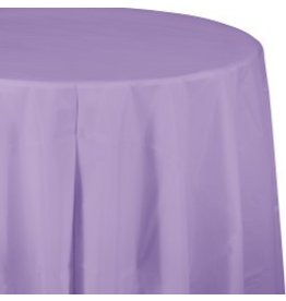 Round Table Cover Luscious Lavender