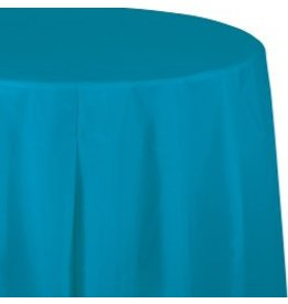 Round Table Cover Turquoise