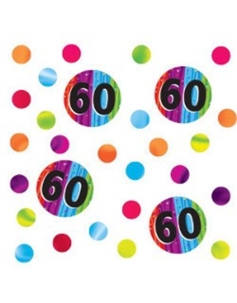 60 Milestone Confetti