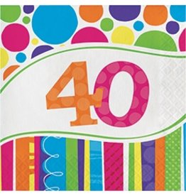 Bright & Bold 40 Luncheon Napkins