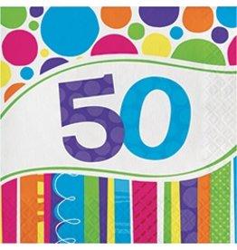Bright & Bold 50 Luncheon Napkins