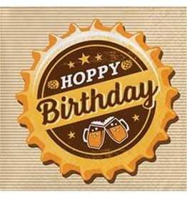 Beverage Napkins Hoppy Birthday