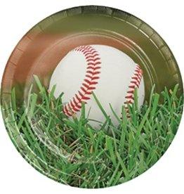 """9"""" Plates Baseball"""