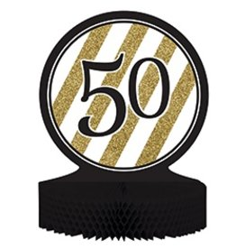Centerpiece Black & Gold 50