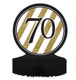 Centerpiece Black & Gold 70