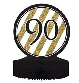 Centerpiece Black & Gold 90