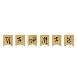 Rustic Mr & Mrs Banner