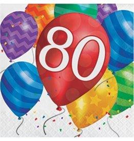 Luncheon Napkins 80 Balloon Blast