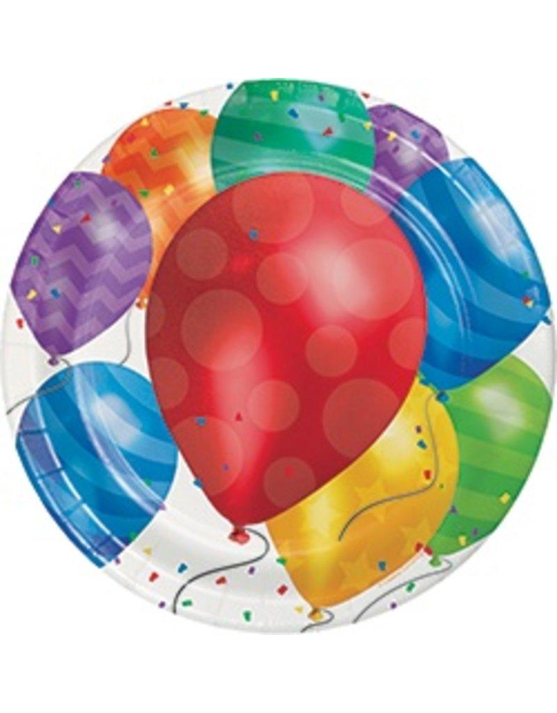 """9"""" Plates Balloon Blast"""