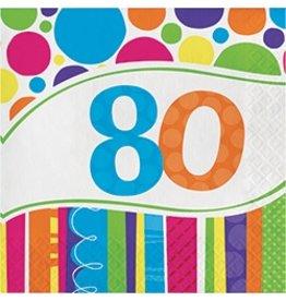 Luncheon Napkins Bright & Bold 80