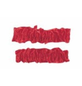 Garters/Armbands Pack of 2 Red