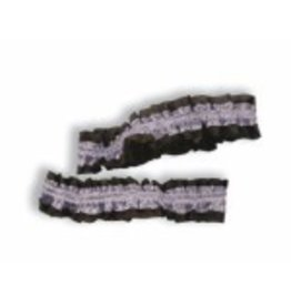 Garters/Armbands Pack of 2- Silver