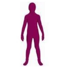 Invisible Suit Burgundy Child Large