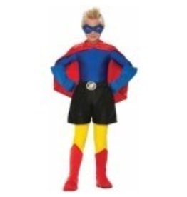 Super Hero Boxer Shorts Child Size Black