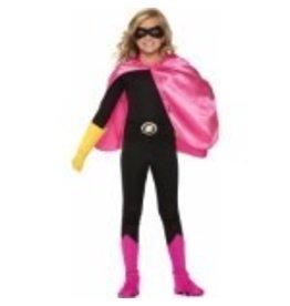 Super Hero Cape Child Size Pink