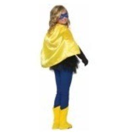 Super Hero Cape Child Size Yellow