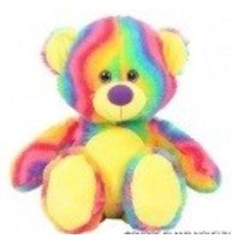 "Swirl Rainbow Bear 20"""