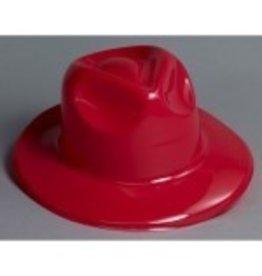 Fedora Plastic Red
