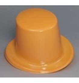Top Hat Plastic Orange