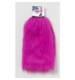 Furry Leg Warmers Pink