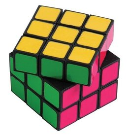 Neon Puzzle Cube