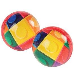 One Dozen Block Mania Bounce Balls