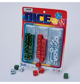 White-Green-Red Dice