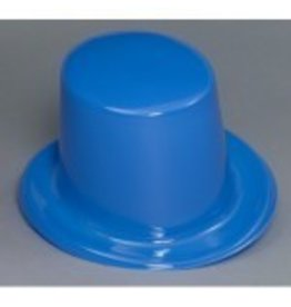Top Hat Plastic Blue
