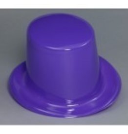 Top Hat Plastic Purple