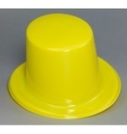 Top Hat Plastic Yellow
