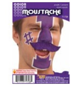 Moustache Purple
