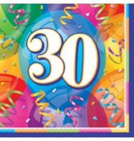 Birthday Jubilee 30th Lunch Napkin