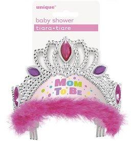 Mom To Be Tiara Pink