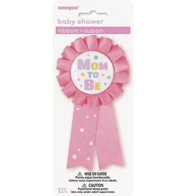 Mom To Be Ribbon Pink