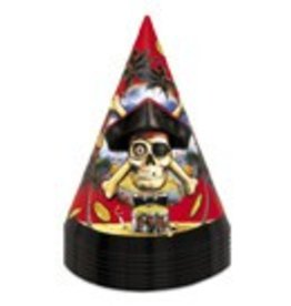 Pirate Party Hats 8 CT