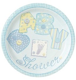 "Baby Stitch 7"" Plates"