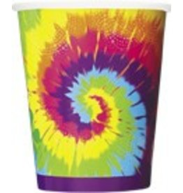 Tye Dye Cups 8 CT
