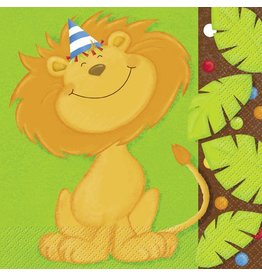 Jungle Party Luncheon Napkin