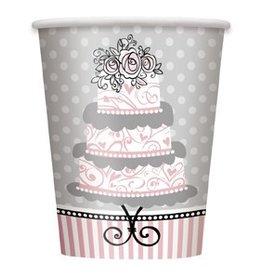 Elegant Wedding Cups 8 CT
