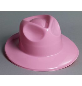 Plastic Fedora Pink