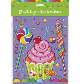 Candy Party Loot Bags 8 CT