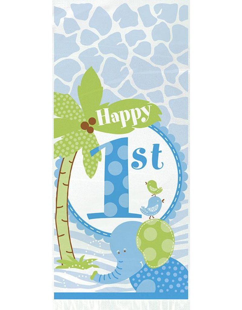 1st Safari Cello Gift Bags 20 Ct