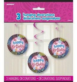Wild Birthday Swirls