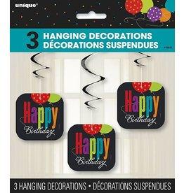 Happy Birthday Hanging Decorations
