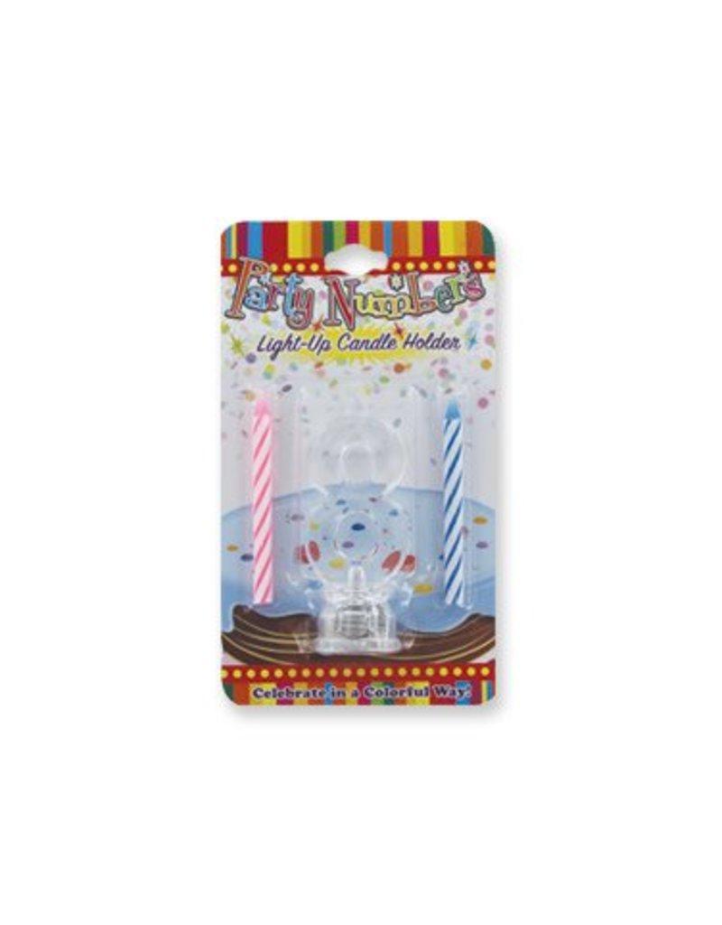 #8 Lite Up Candle Holder