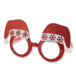 Xmas Glitter Glasses Assorted Styles