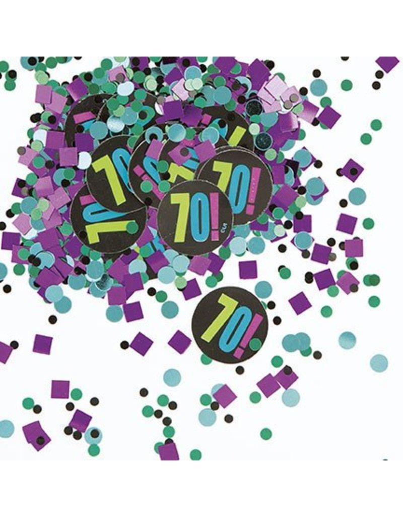 70TH  Birthday Confetti