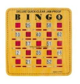 Bingo Slide Card (Deluxe Jam Proof)